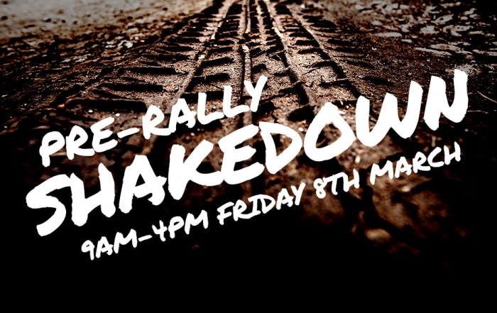 Pre-Rally Shakedown